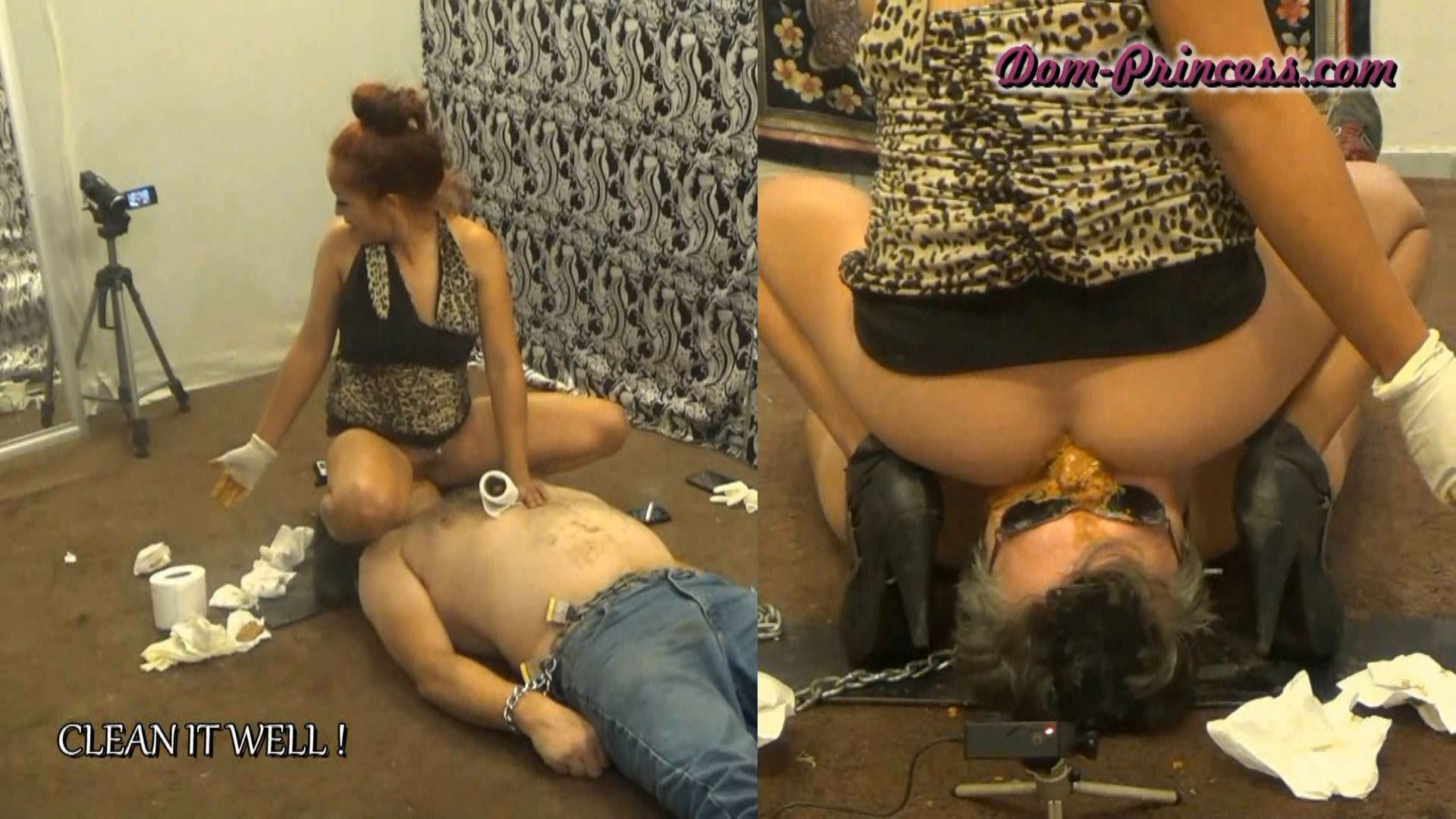 [SCAT-PRINCESS] Quick Sit on your Mouth Snack Part 4 Karina [FULL HD][1080p][WMV]