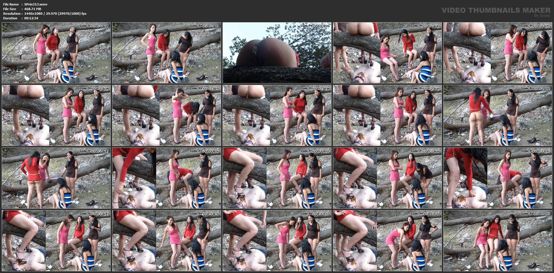 [SCAT-PRINCESS] Poop Action in the Woods Part 4 Adison [FULL HD][1080p][WMV]