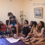 [SCAT-PRINCESS] How many Girls can a Toilet Slave take Part 01 [HD][720p][WMV]