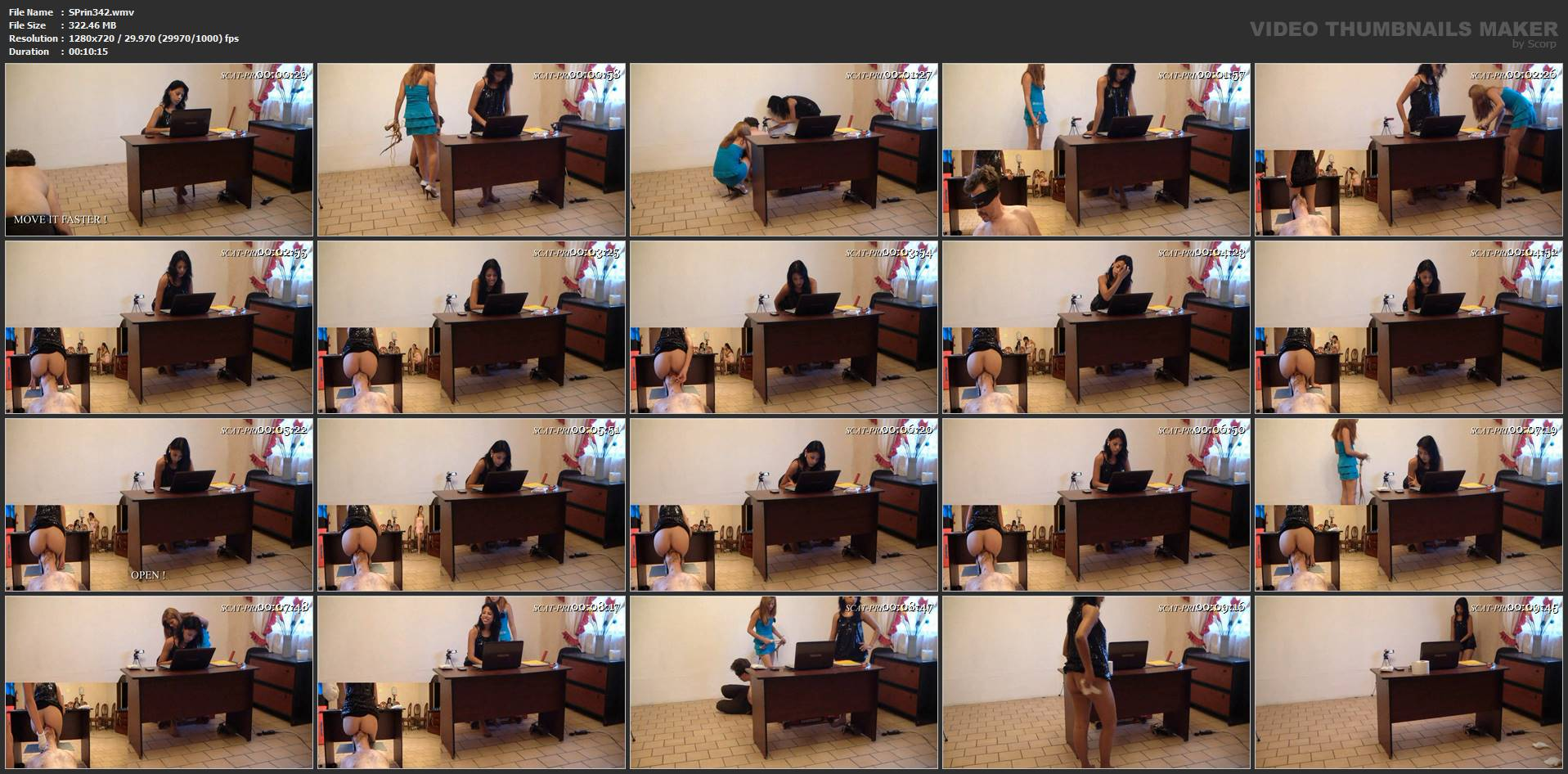 [SCAT-PRINCESS] Another Day in the Office Part 02 Diana [HD][720p][WMV]