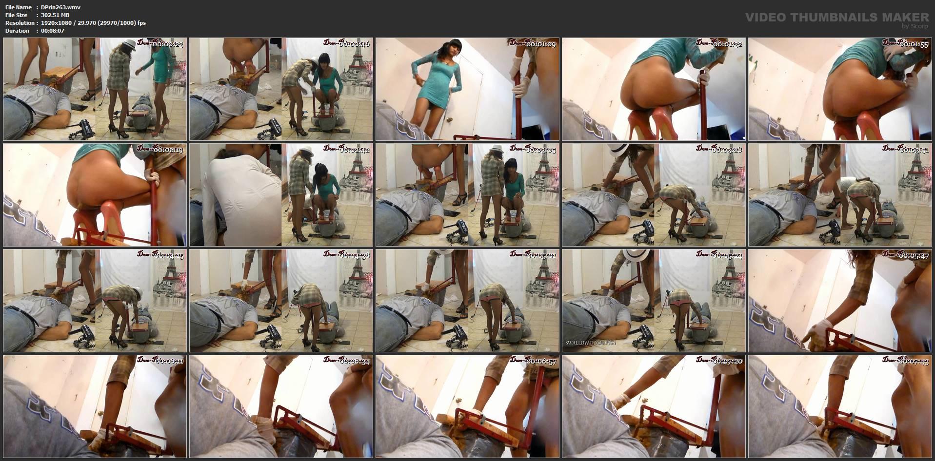 [DOM-PRINCESS] Toilet Slave Enforcement Kit Part 4 Carmen [FULL HD][1080p][WMV]