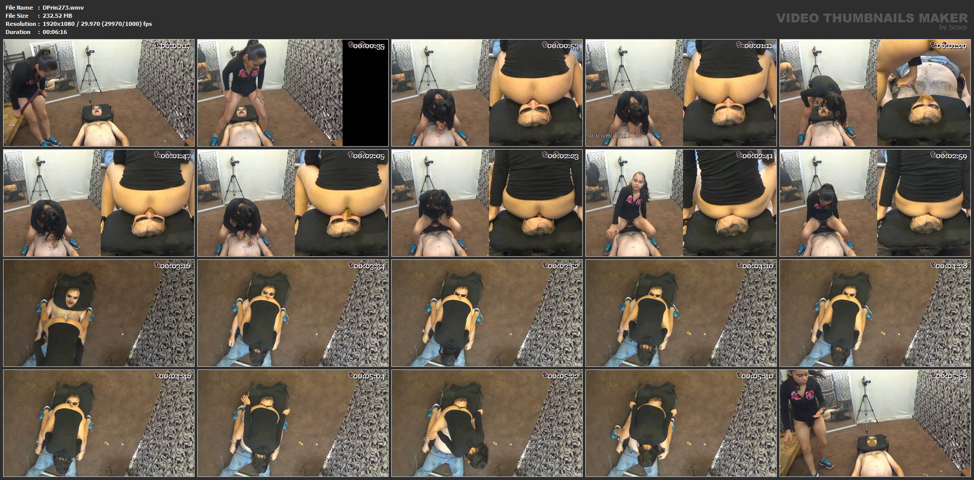 [DOM-PRINCESS] Toilet Slave on Duty Part 7 Karinas Best Friend [FULL HD][1080p][WMV]