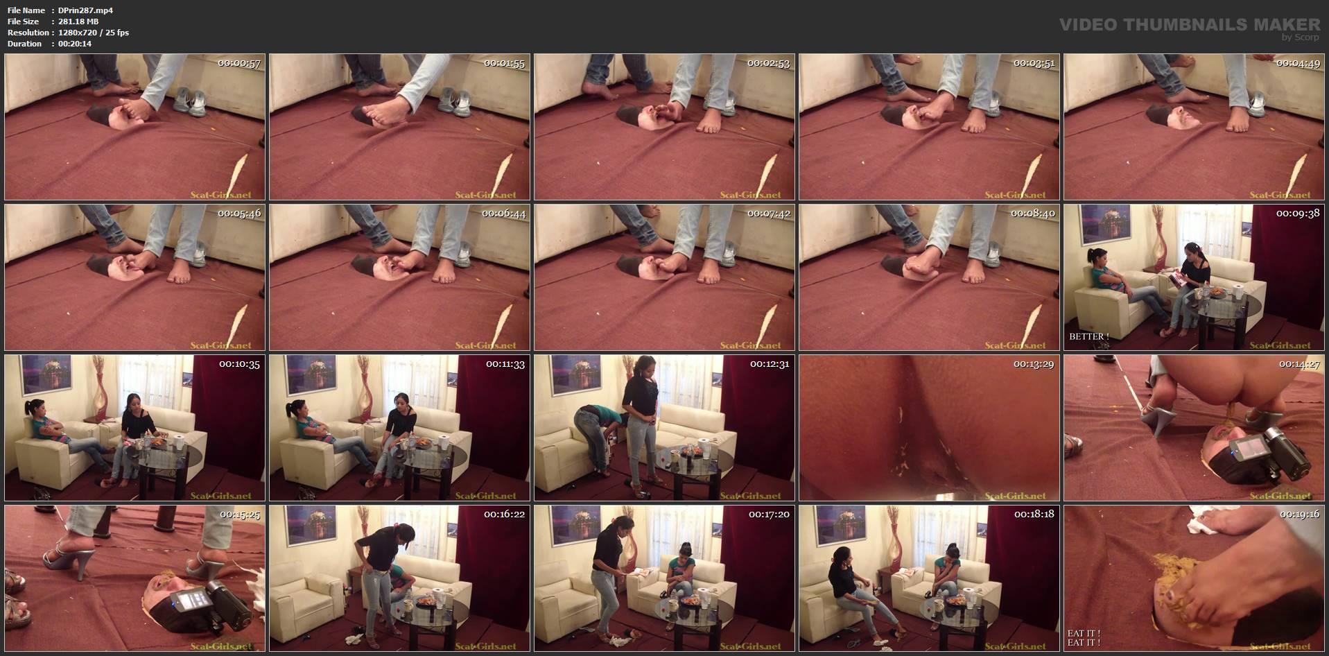 [DOM-PRINCESS] Move It Floor Face Scat Part 1 [HD][720p][MP4]