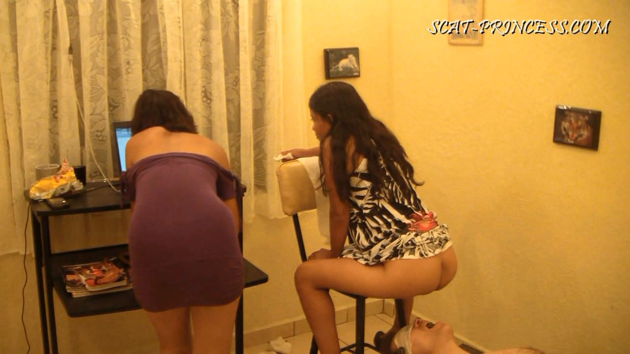 [DOM-PRINCESS] Toilet Slave and the Duct Tape Trick Part 2 [HD][720p][WMV]