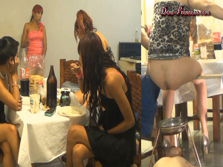 [DOM-PRINCESS] Toilet Mouth High Pressure System Part 5 Christine [FULL HD][1080p][WMV]