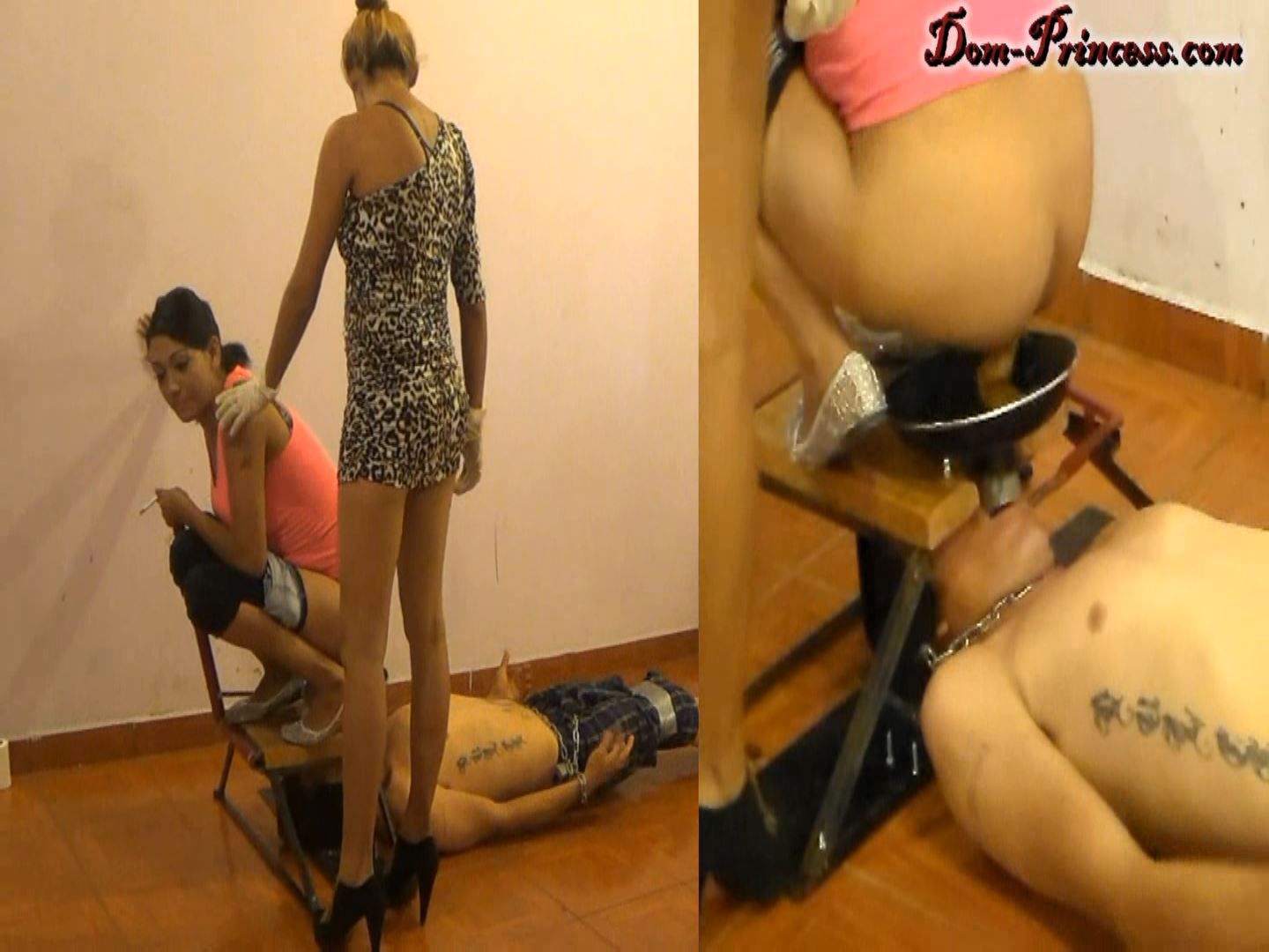 [DOM-PRINCESS] The Raw Tapes, braking a Man into a Humant Toilet. What went wrong Part 1 Britany [FULL HD][1080p][WMV]
