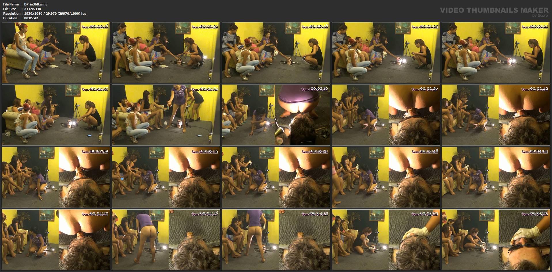 [DOM-PRINCESS] Under Floor Tube Biter Part 1 Britany [FULL HD][1080p][WMV]