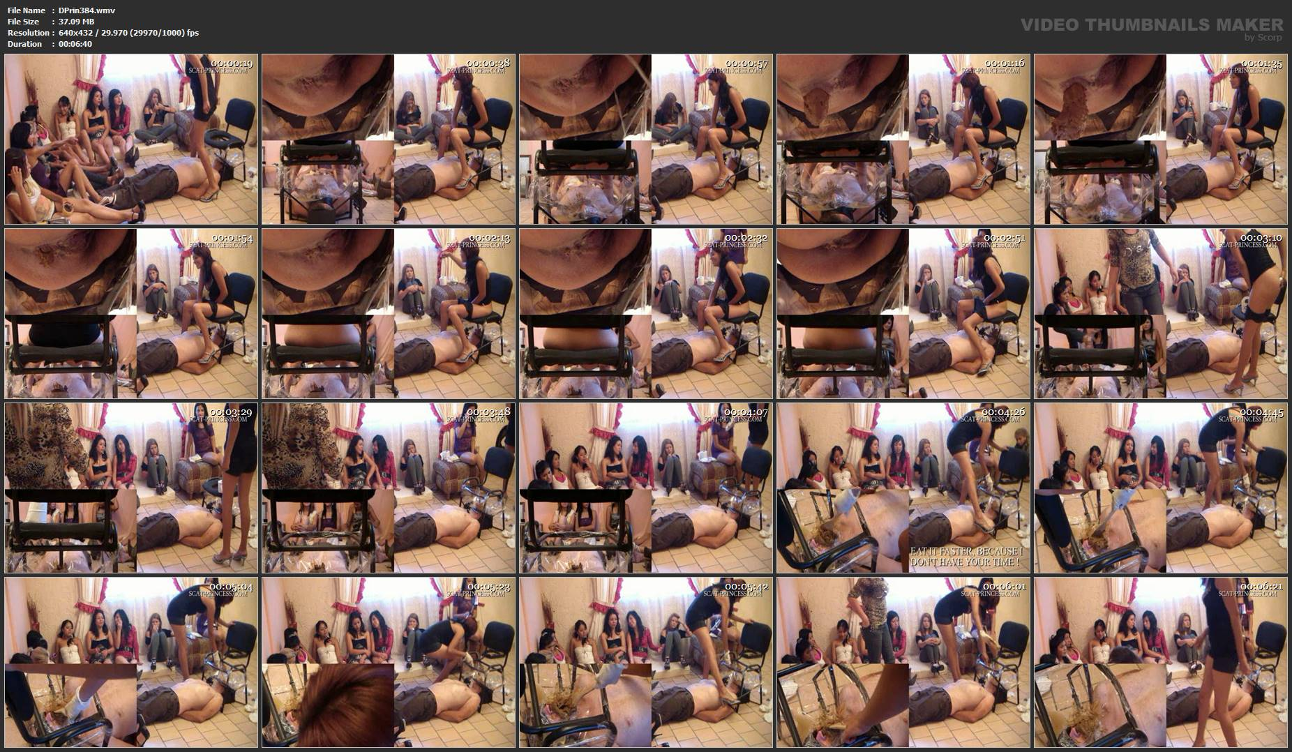 [DOM-PRINCESS] New irristible Toilet Chair Part 3 Britany [SD][432p][WMV]