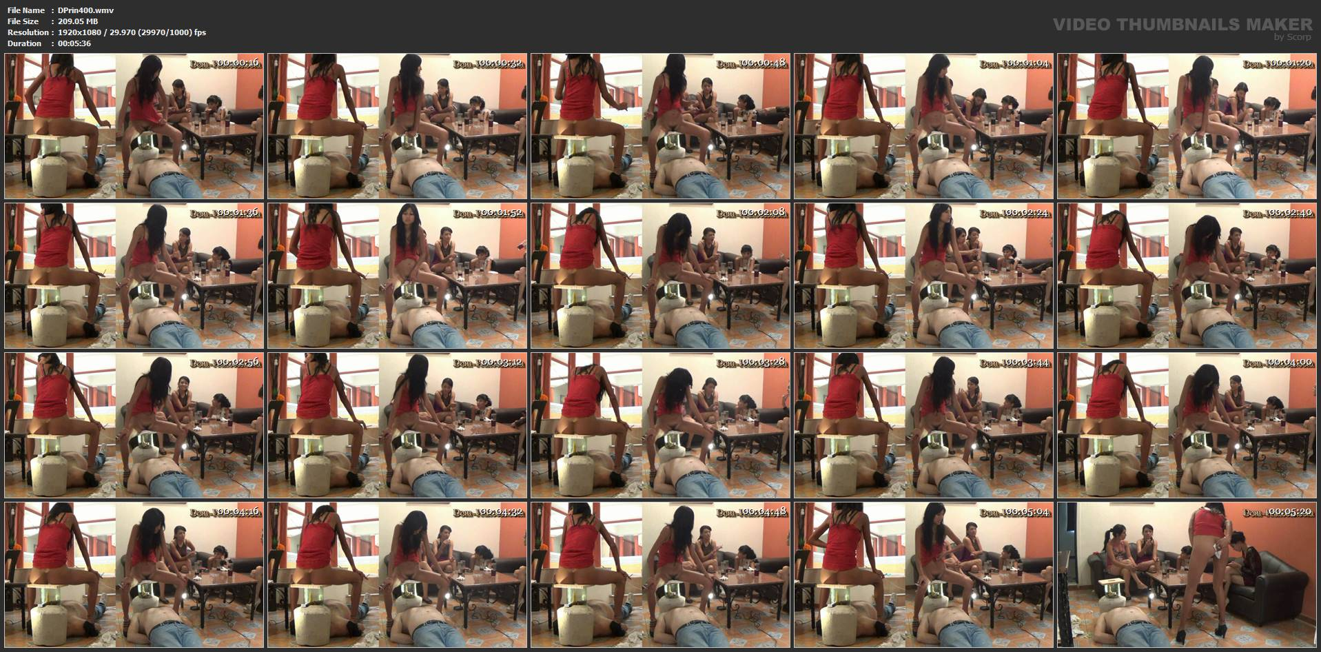 [DOM-PRINCESS] The Poop Collector Part 05 Carmen [FULL HD][1080p][WMV]