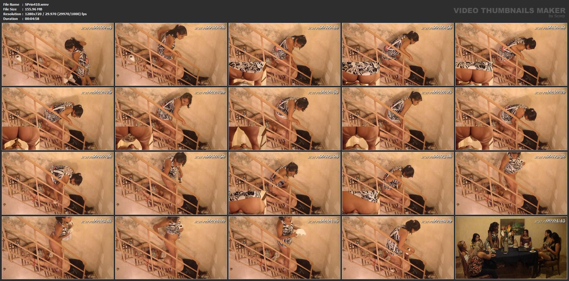 [SCAT-PRINCESS] Chrystal invites Toilet Slave Part 4 Gaby [HD][720p][WMV]
