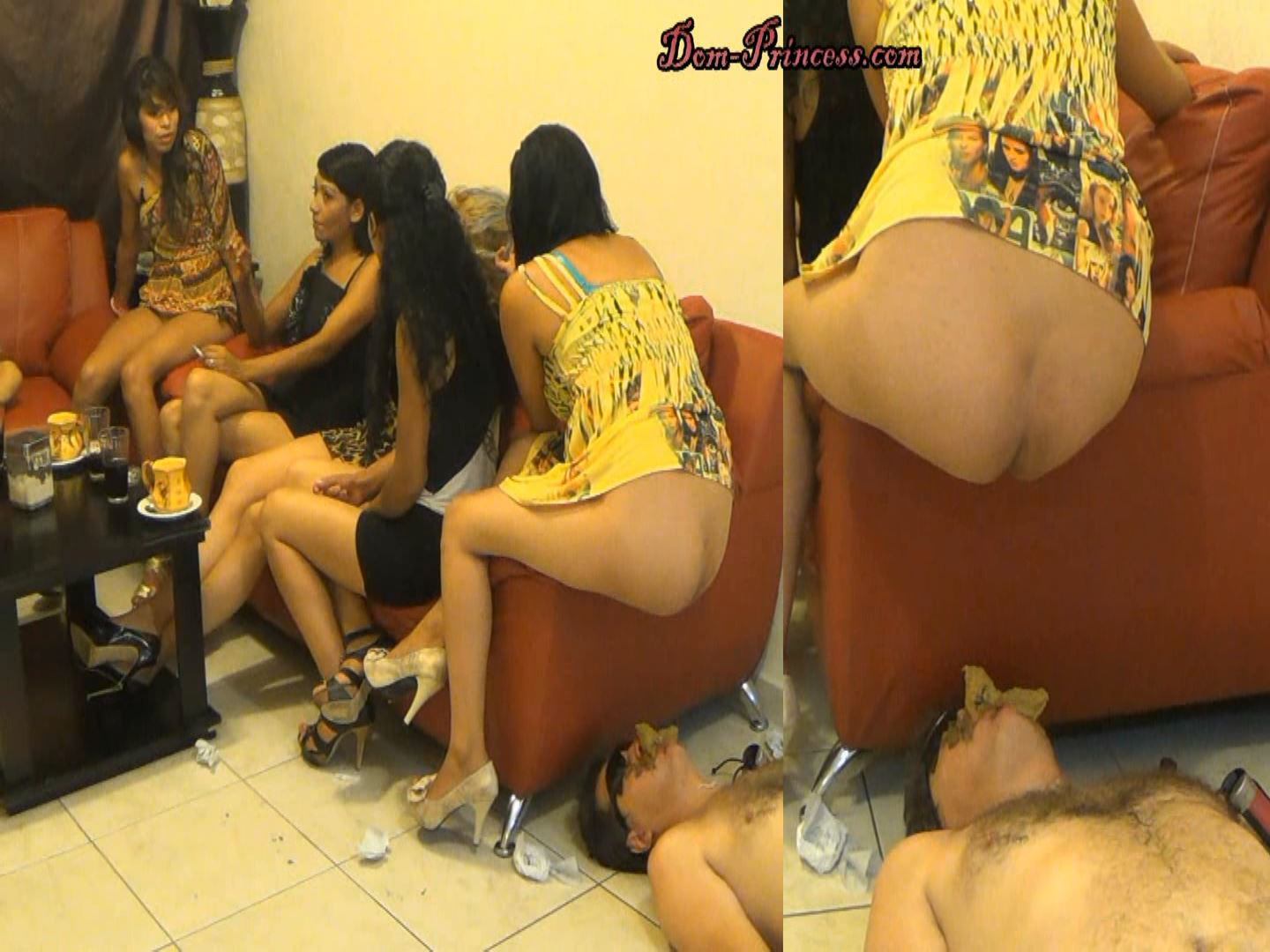 [SCAT-PRINCESS] Human Toilet on the Side Part 5 Ana [FULL HD][1080p][WMV]