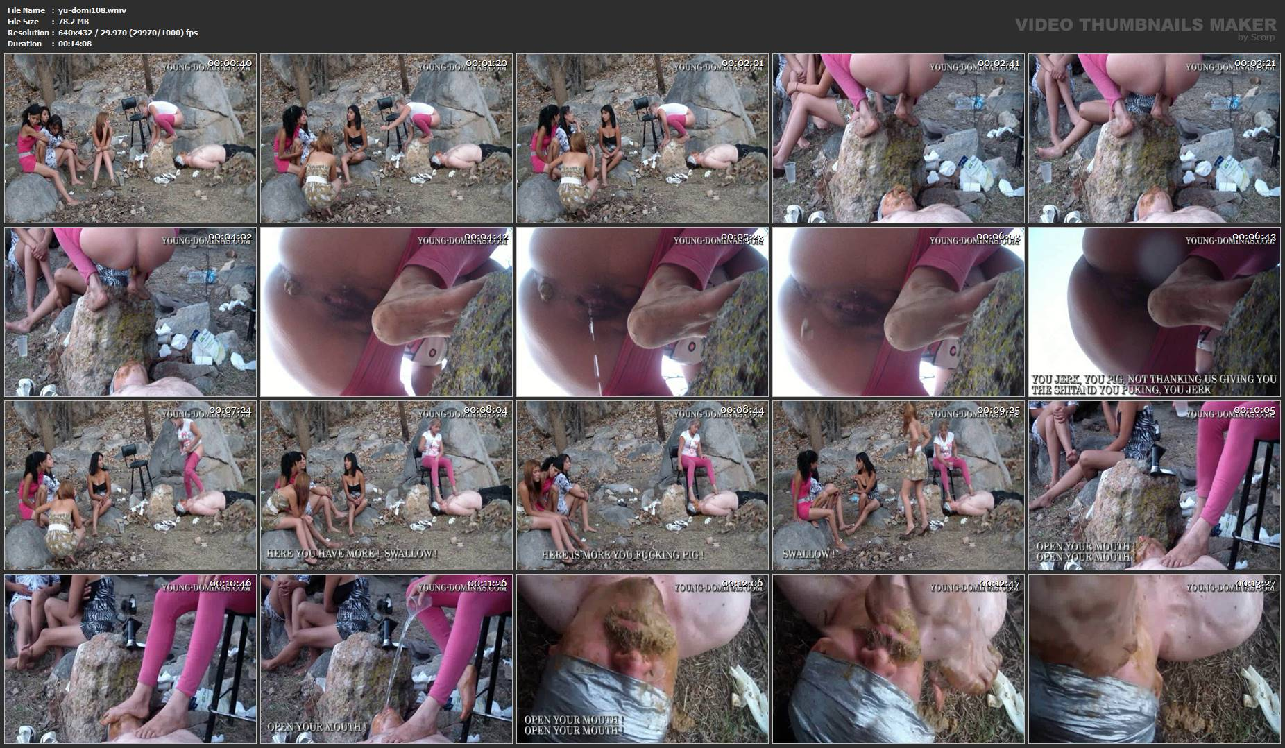 [YOUNG-DOMINAS] Quick Shit On The Rocks Part 5 [SD][432p][WMV]