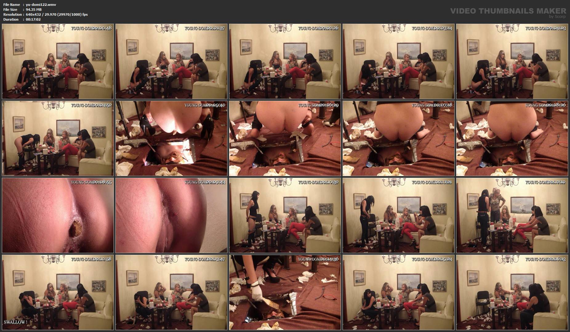 [YOUNG-DOMINAS] Close The Lid On The Toilet Slave Part 7 [SD][432p][WMV]