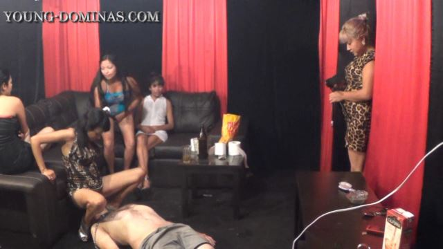 [YOUNG-DOMINAS] Another Nasty Toilet Session Part 1 [LQ][360p][WMV]