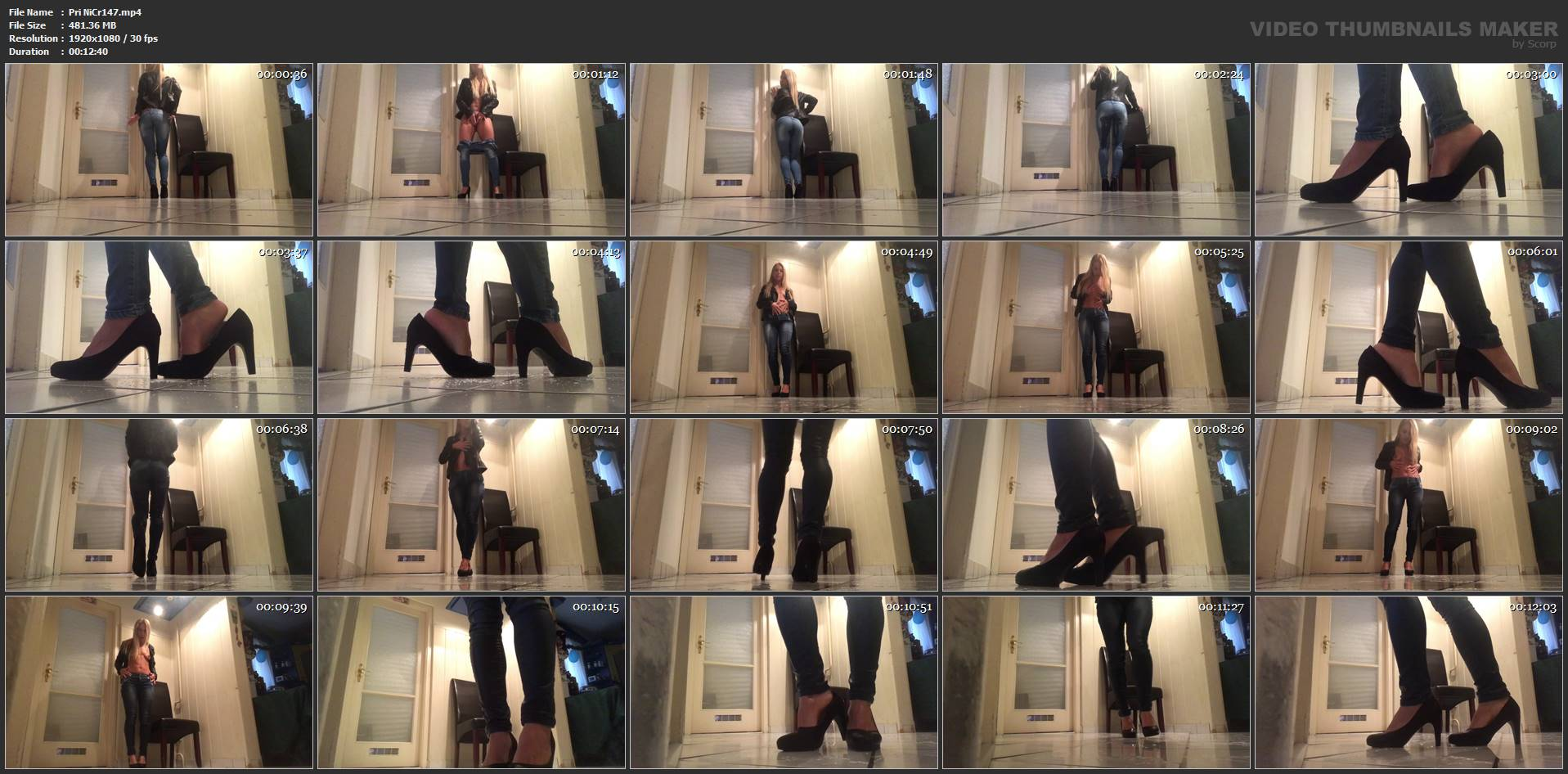 [PRINCESS NIKKI'S EMPIRE] Shoe Pee. Featuring: Nikki Cruel [FULL HD][1080p][MP4]