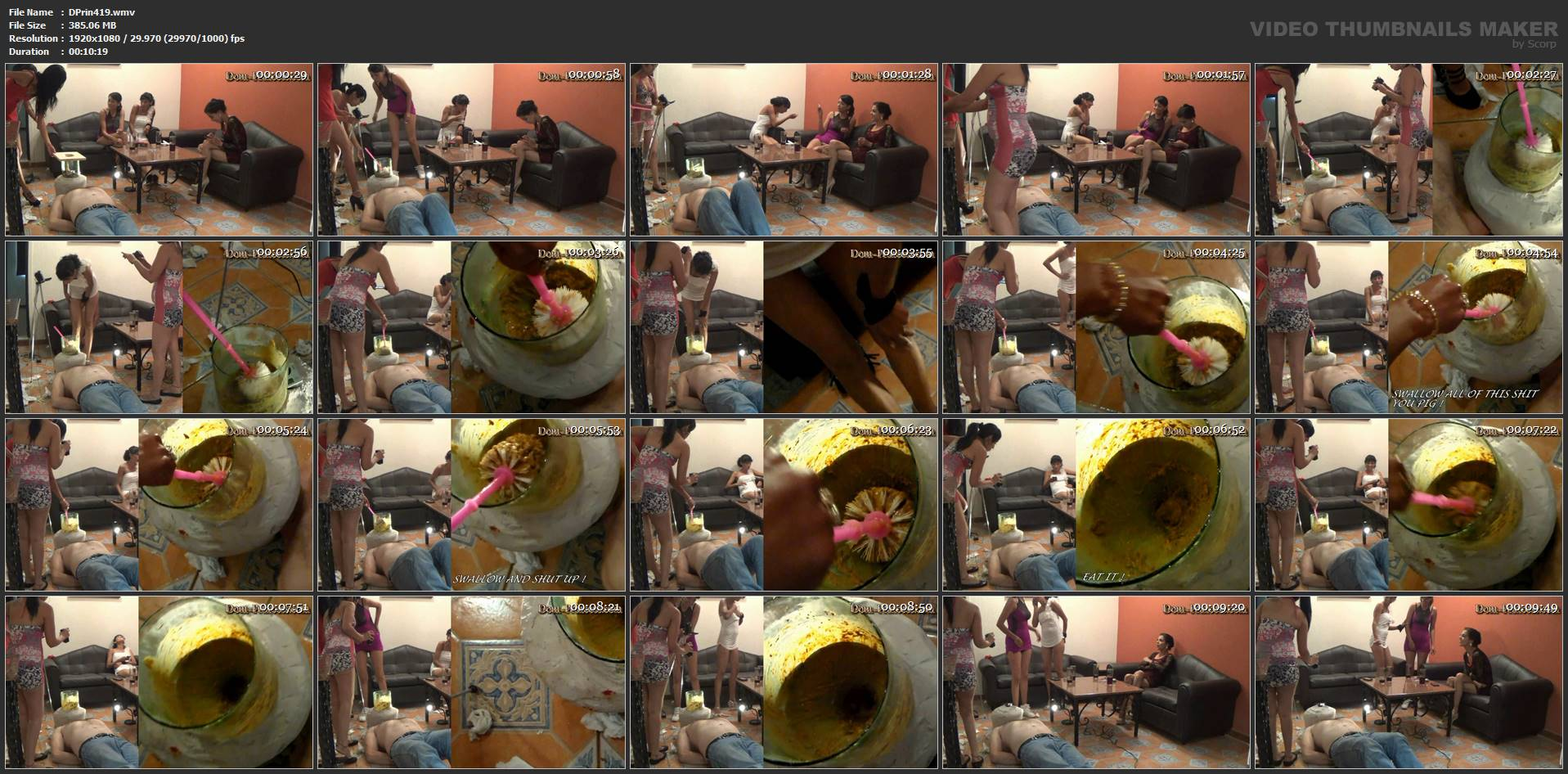 [DOM-PRINCESS] The Poop Collector Part 06 The Feeding [FULL HD][1080p][WMV]