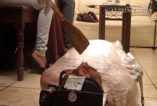 [DOM-PRINCESS] The Feeding and Filling of a Toilet Slave Part 9 Diana [SD][432p][WMV]