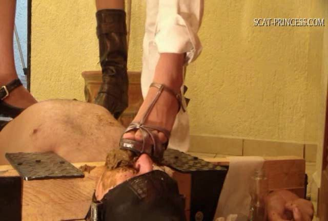 [DOM-PRINCESS] Toilet Slave in old Style Restrains Part 6 M [SD][432p][WMV]