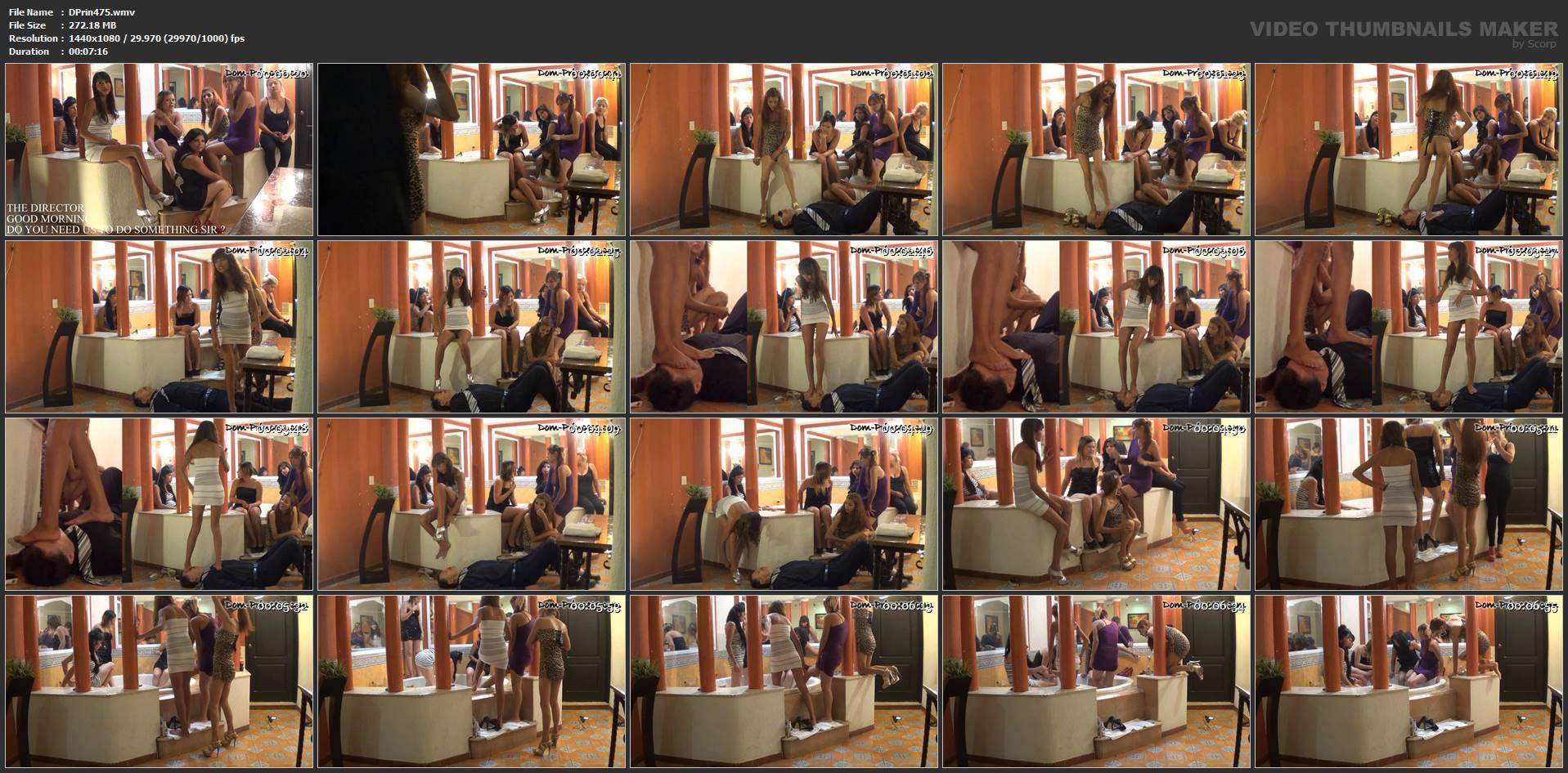 [DOM-PRINCESS] The Jacuzzi Toilet Man Part 1 Intro [FULL HD][1080p][WMV]