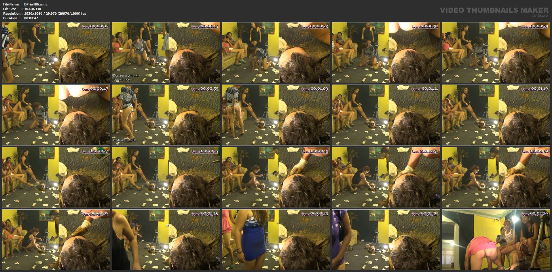 [DOM-PRINCESS] Under Floor Tube Biter Part 7 Susan [FULL HD][1080p][WMV]