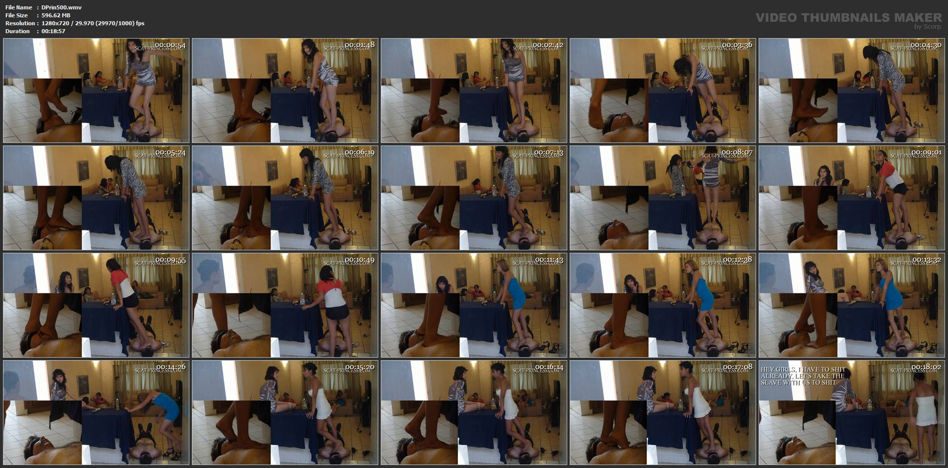 [DOM-PRINCESS] To much Shit on the Roof Part 1 Feet [HD][720p][WMV]