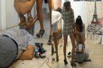 [DOM-PRINCESS / SCAT-PRINCESS] Toilet Slave Enforcement Kit 1 Samantha [FULL HD][1080p][MP4]